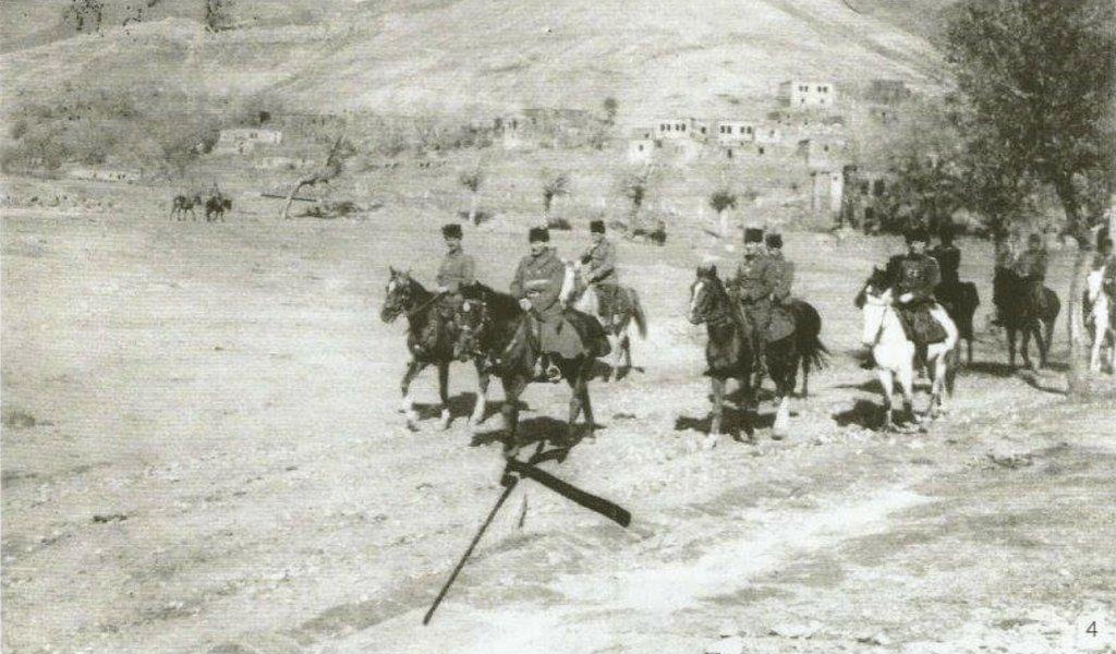 16.Kolordu Komutanı Mustafa Kemal Bey Bitlis'te, 1916.
