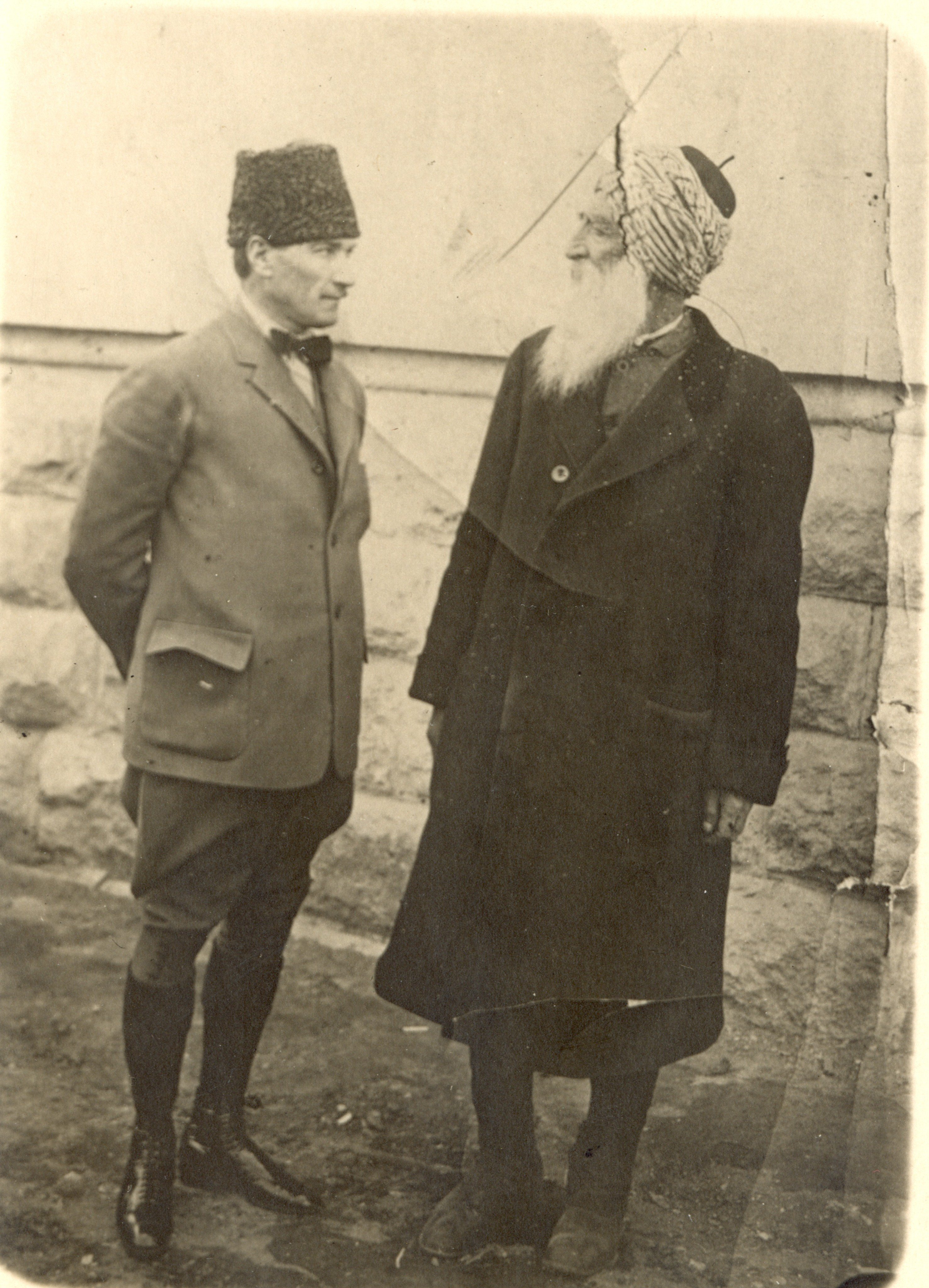 M. Kemal Paşa ve Diyap Ağa, 22 Mart 1921.