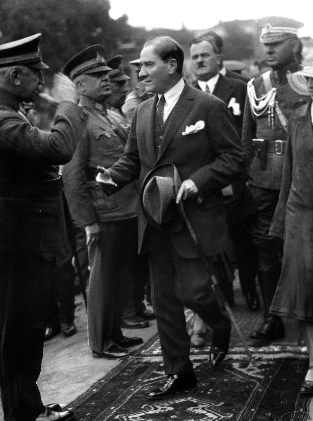 Atatürk Haydarpaşa'da, 11 Haziran 1930.