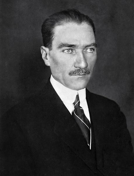 Meclis Başkanı Mustafa Kemal Paşa'nın portresi, 1921.
