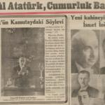 Atatürk'ün Cumhurbaşkanlığı Konuşmaları